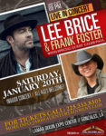 Lee Brice & Frank Foster